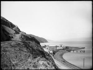 William Williams, Kaiwharawhara, Wellington, 188-? E.R.Williams Collection, Alexander Turnbull Library, Wellington, NZ. Ref:1/1-025848-G